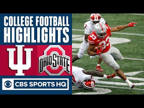 #9 Indiana vs #3 Ohio State Highlights: Buckeyes beats back comeback bid by Hoosiers | CBS Sports HQ