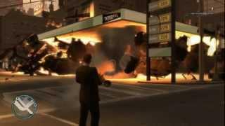 GTA 4 Explosiones y bombas atómicas loquendo HD parte 2