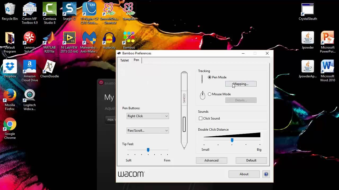 Mapping Wacom Tablet (dual monitors)