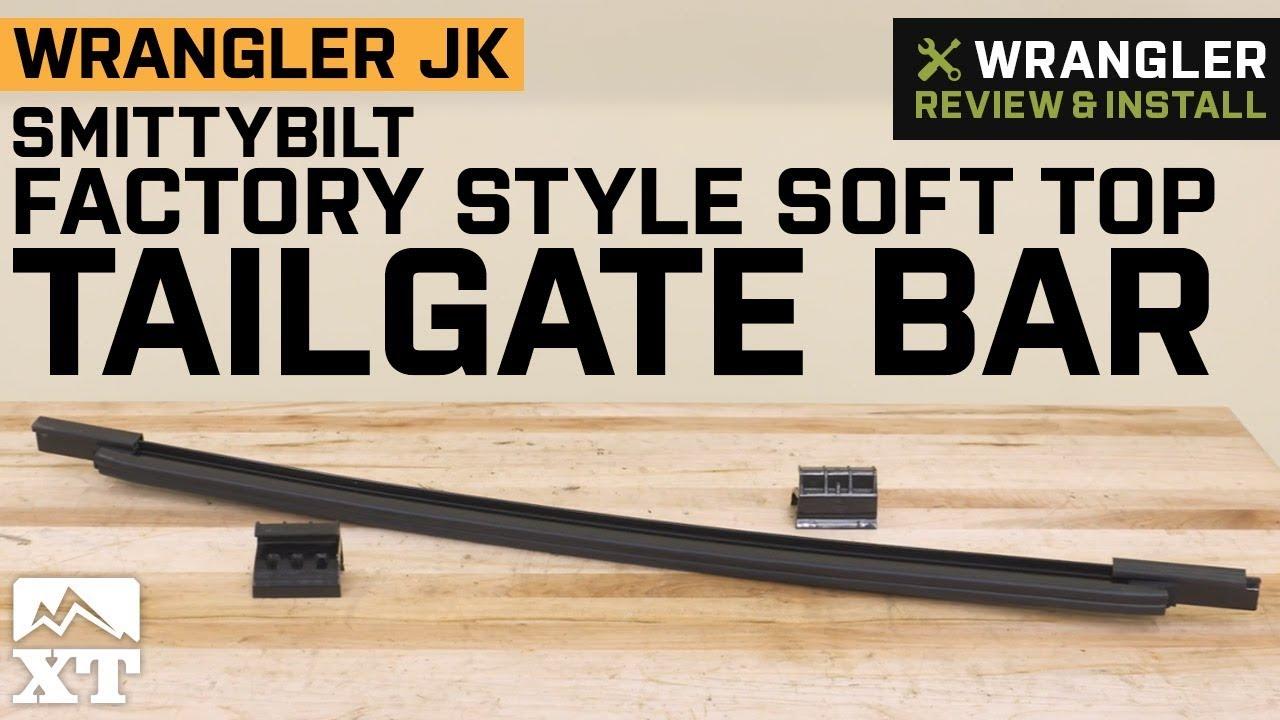 Smittybilt OE Style Tailgate Bar fits 2007-2018 Jeep Wrangler JK JKU 91205