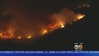 Thomas Fire Continues To Grow, But Some Evacuations Lifted