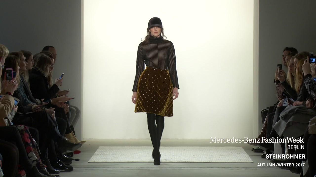 Steinrohner Mercedes Benz Fashion Week Aw17 Youtube