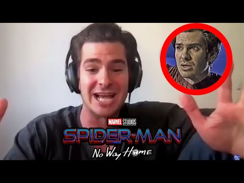 ANDREW GARFIELD Responds To Leaked Photos of Him & Tobey Maguire In Spider-Man No Way Home
