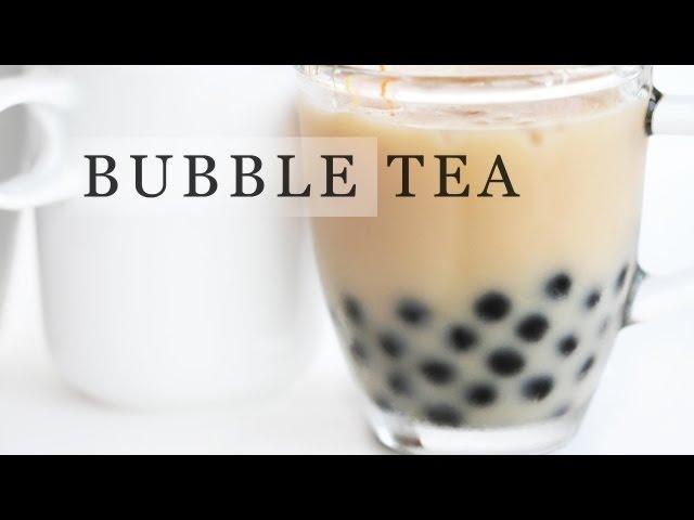 Tapioca Bubble Tea Recipe - Boba Milk Tea