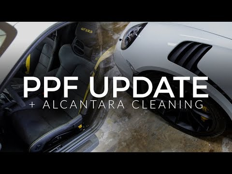 GT3 RS Paint Protection Film Update & Alcantara Cleaning
