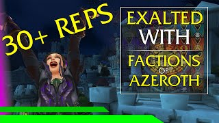 Exalted: The Reputations of Azeroth in World of Warcraft
