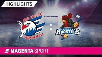Adler Mannheim - Iserlohn Roosters | 10. Spieltag, 19/20 | MAGENTA SPORT