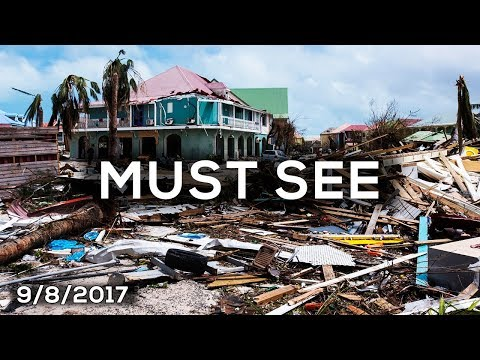 LIVE HURRICANE IRMA TURKS & CAICOS - Before, During & the Aftermath