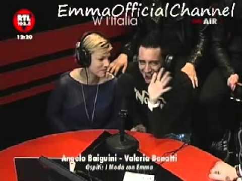 Emma Marrone e i Modà - Intervista a Rtl 102.5 - 16.02.11 - Prima parte