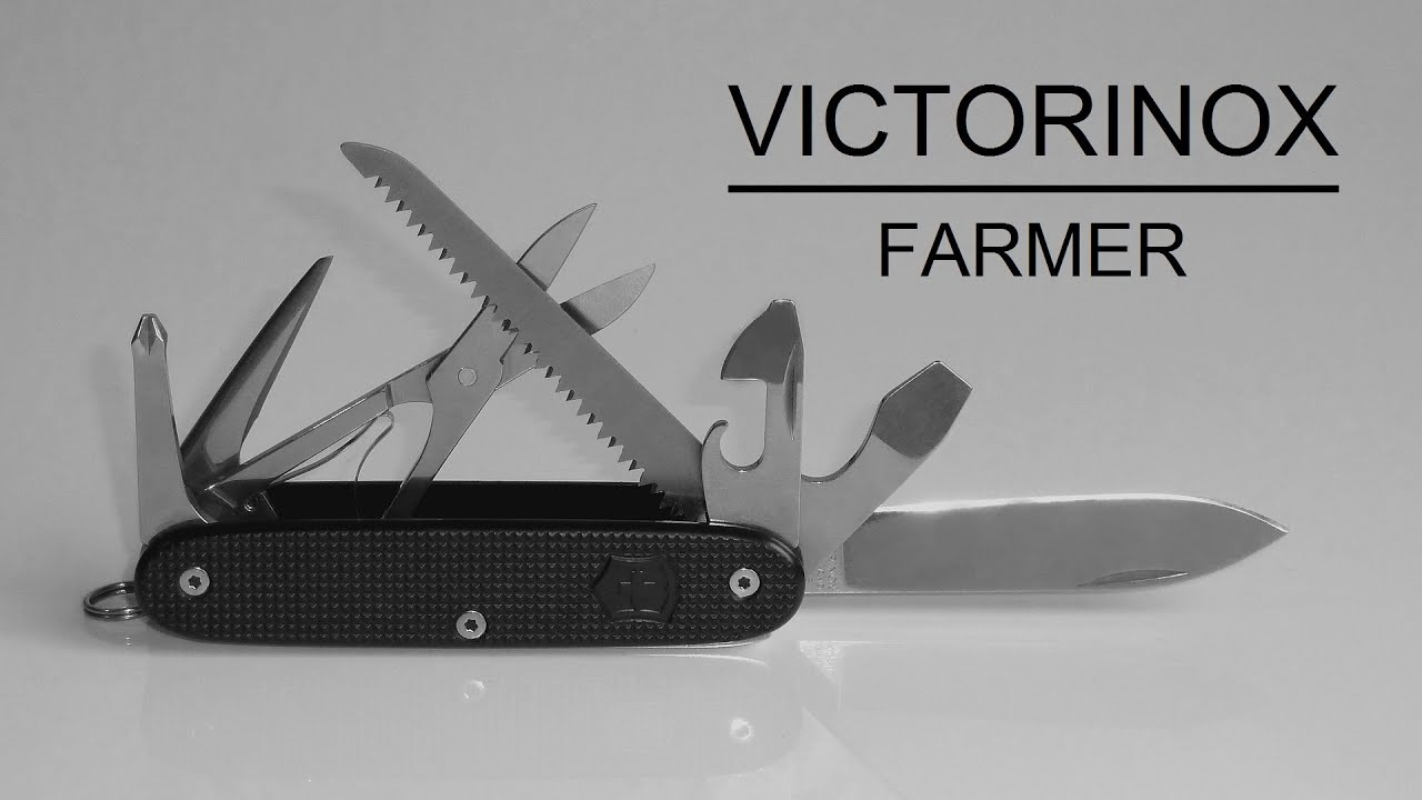Victorinox Alox Farmer Custom Von Robert Lessard
