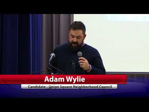 Adam Wylie  Union Square Neighborhood Council Candidate