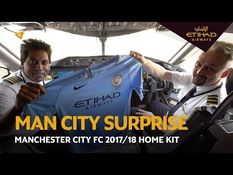 The New Manchester City FC 2017/18 Season Kit | Etihad Airways