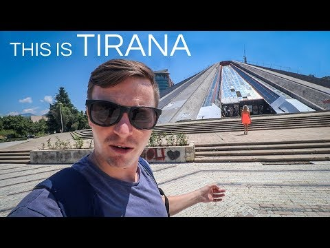 First Impressions of Albania - Tirana Travel Vlog