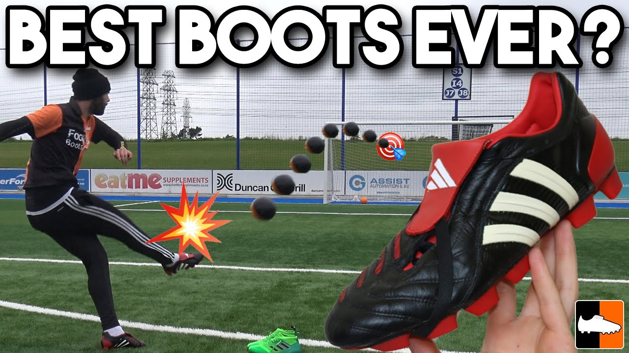new style 018e3 b98b3 Old Vs New Boots! adidas Predator v ACE17 Cleats Battle