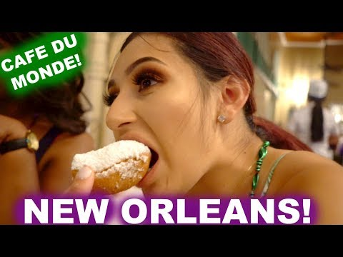 FIRST DAY IN NEW ORLEANS! | VALEYAS VLOGS