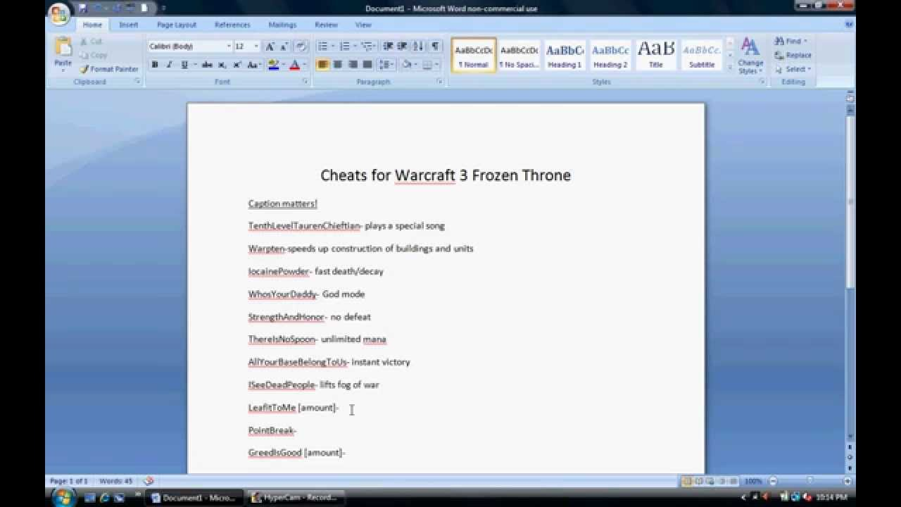 warcraft 3 frozen thone cheat codes youtube