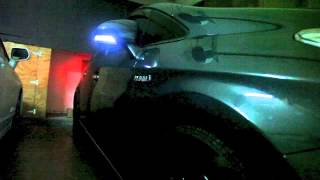 JDM Prius power folding side mirrors with 3-in-1 combo LEDs, DIY