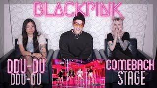 BLACKPINK(블랙핑크) - DDU-DU DDU-DU(뚜두뚜두)  Live Stage REACTION! l THESE GIRLS ARE KILLING ITl