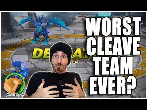 SUMMONERS WAR: The WORST Arena Cleave Team Ever :(