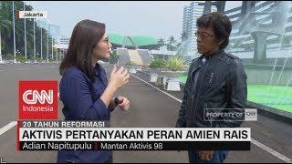 Aktivis Pertanyakan Peran Amien Rais di Reformasi