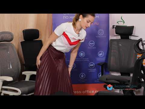 Анатомическое кресло Expert Sail с подставкой для ног