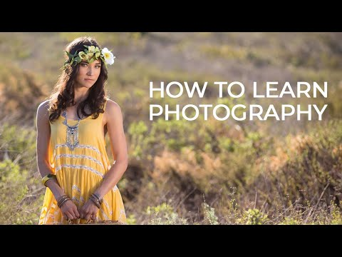 the best way to learn photography photography 101