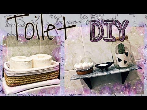 Toilet DIY * Декор для ванной комнаты
