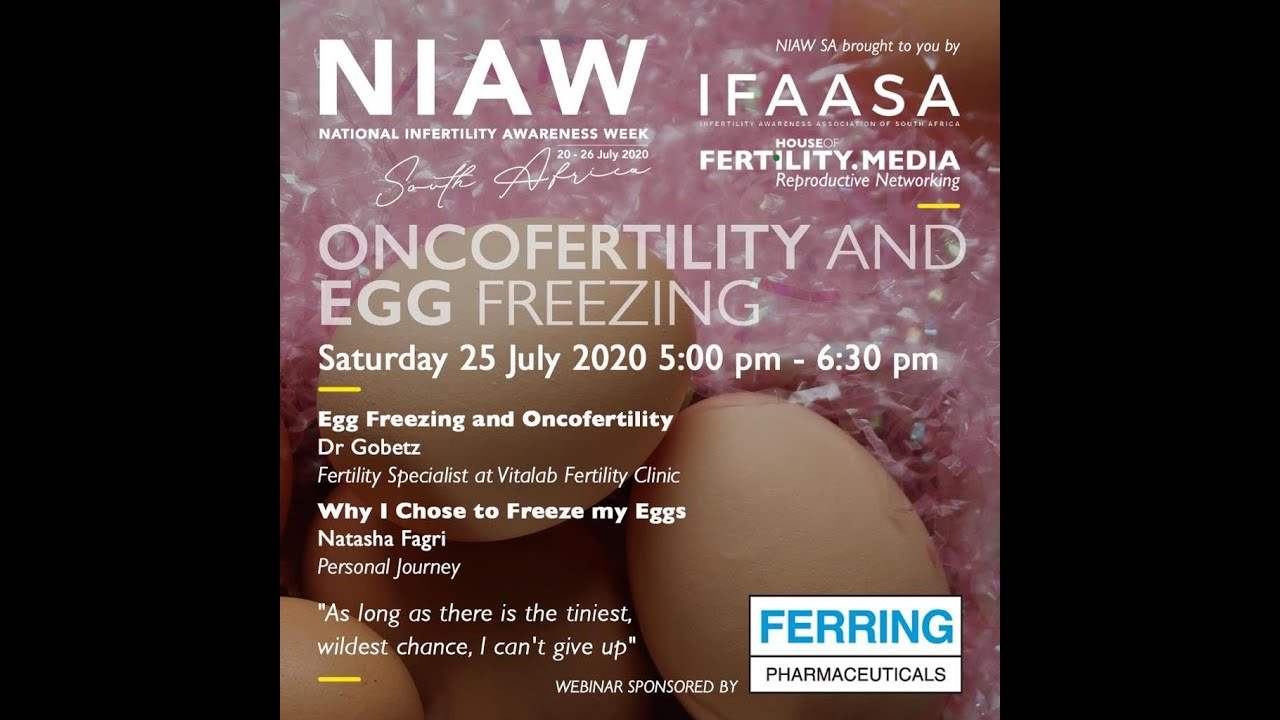 ONCOFERTILITY AND EGG FREEZING NIAW WEBINAR 2020