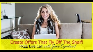 Create offers that fly out the door (replay) Thumbnail