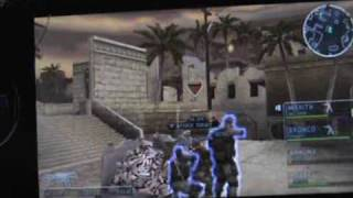 SOCOM:U.S.Navy SEALs:Tactical Strike on PSP (Actual Gameplay