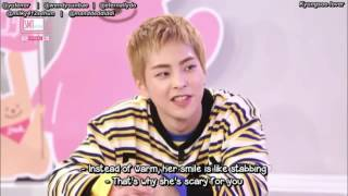Video EXO Xiumin and Chen's ideal types with a mention of Selena Gomez download MP3, 3GP, MP4, WEBM, AVI, FLV November 2017