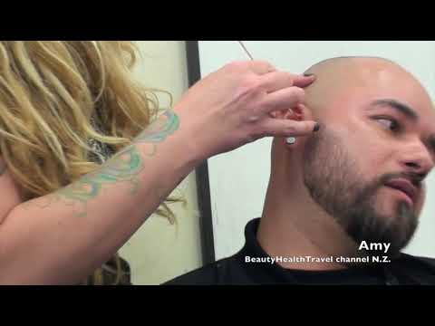 Waxing Hair Removal From Ears By Amy Youtube