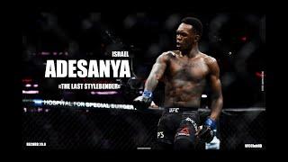 "Israel ""STYLEBENDER"" Adesanya - All UFC Highlight/Knockout/Trainingᴴᴰ"
