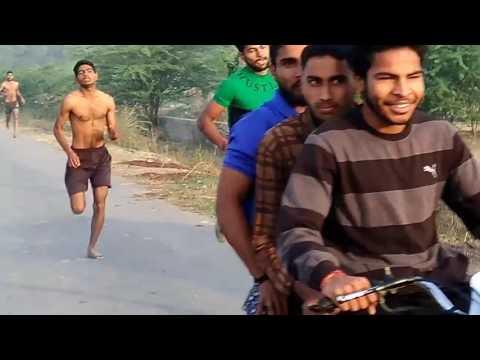 Running time 1600 metre GUJJAR army