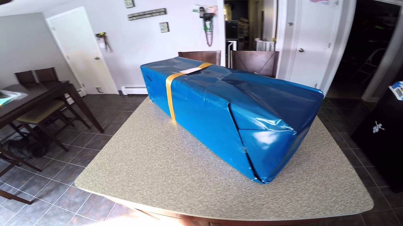 Amazon Gift wrap - You're drunk go home! - YouTube
