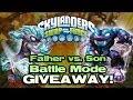Skylanders Swap Force BATTLE Mode: FREEZE BLADE vs. TRAP SHADOW!
