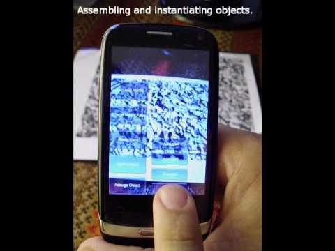 Augmented reality system for manipulating 3D objects