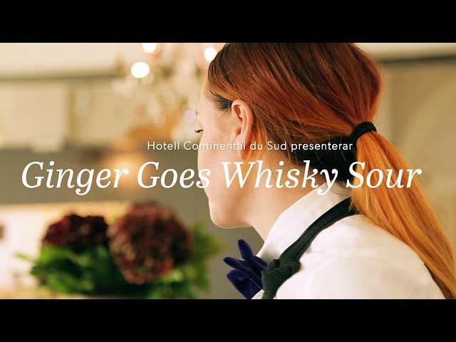 Ginger Goes Whiskey Sour