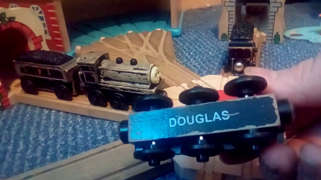 Wooden Railway Donald And Douglas Review