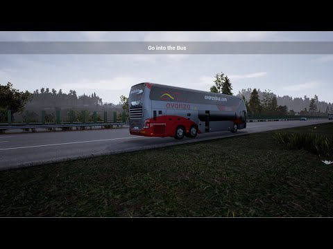 Coachbus Simulator Gameplay (GER): Destination: Duisburg, Germany (W/Commentary)