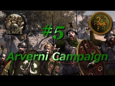Total War: Rome II-Arverni Campaign #5~The Gallic Confederation!