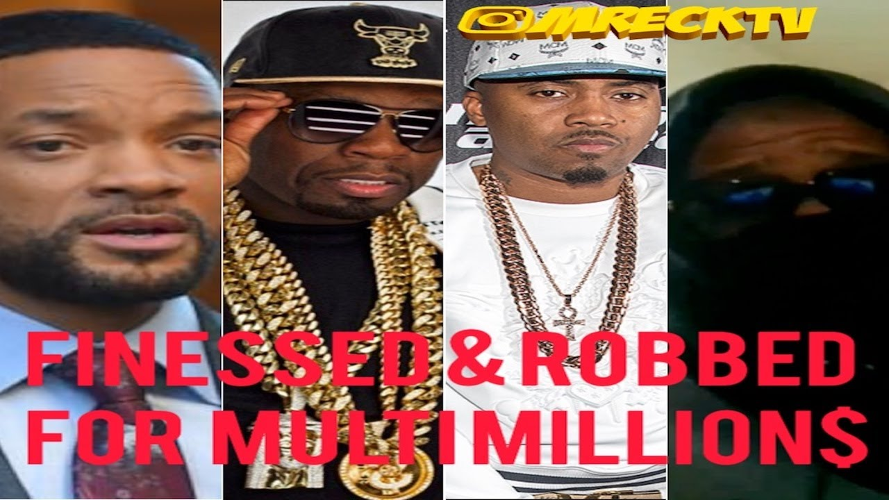 50 Cent,Will Smith,Nas,Eminem RObbed For Million$|Industry Insider Tells All To M.Reck|Full Video