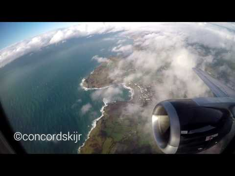 Empty Takeoff! Titan Airways 737-33A | Isle of Man - Belfast City | Full Flight