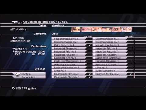 Guía Comentada Final Fantasy XIII HD - Parte 76 - Trofeo Coleccionista Parte 1