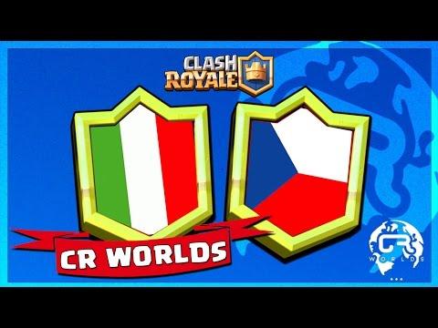 COUPE DU MONDE CLASH ROYALE : ITALIE vs REPUBLIQUE TCHEQUE