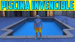 PISCINA INVENCIBLE!! Nuevo Lugar Secreto!! - Gameplay GTA 5 Online 1.17
