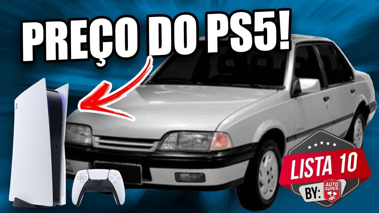 10 CARROS PARA COMPRAR COM O PREÇO DO PLAYSTATION 5 (PS5)
