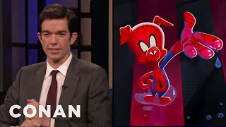 """John Mulaney On """"Spider-Man: Into The Spider-Verse"""" - CONAN on TBS"""