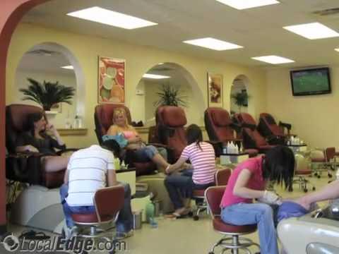Euphoria nails and spa westbrook me youtube for Adalia salon westbrook me