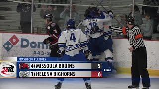 Helena Bighorns comeback to top Missoula Jr. Bruins, advance to 2nd round